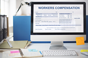 Workers Compensation on Computer